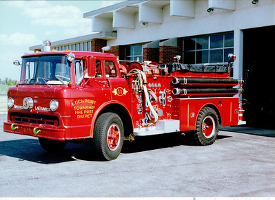 LOCKPORT FPD ENGINE 11 FORD / AMERICAN LAFRANCE