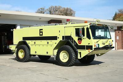LOCKPORT FPD  ARFF 6  1992 AMERTEK CF4000L  1000-1000-130 F - 500# PK  X-US NAVY FD