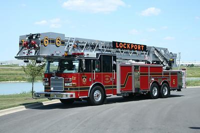 LOCKPORT FPD TOWER 6 PIERCE DASH 100' PAP