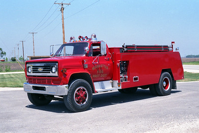 MANHATTAN FPD  TANKER 1227  1975  CHEVY C65 - 1985  MONROE   350-2000