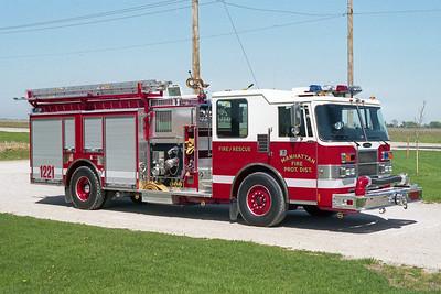 MANHATTAN FPD  ENGINE 1221  1994  PIERCE DASH   1250-750      OFFICERS SIDE