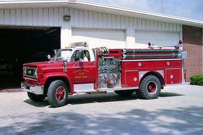 MANHATTAN FPD  ENGINE 1221  1978  CHEVY C65 - E-ONE   1000-750   #370