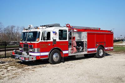 MANHATTAN FPD  ENGINE 1211  1994  PIERCE DASH - 2013  ALEXIS   1250-750   R-8074 - RE-320