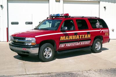 MANHATTAN FPD  CAR 1292  2001  CHEVY SUBURBAN 1500 4X4
