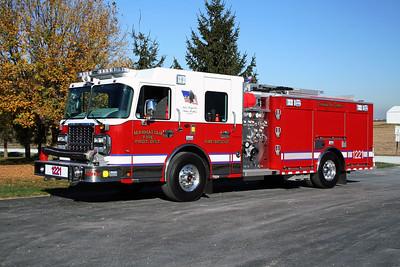 MANHATTAN FPD  ENGINE 1221  2010  SPARTAN METRO STAR - ALEXIS   1000-750   #2107