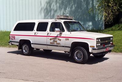 MANHATTAN FPD  CAR 1291  1989  CHEVY SUBURBAN 1500  4X4