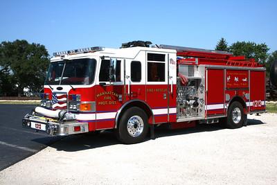 MANHATTAN FPD  ENGINE 1212  2006  PIERCE ENFORCER   1250-750-30F   # 17792
