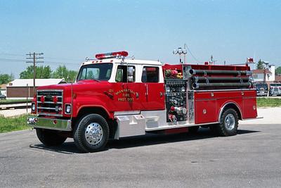 MANHATTAN FPD  ENGINE 1211  1985  IHC S - PIERCE   1500-1000   E-3574