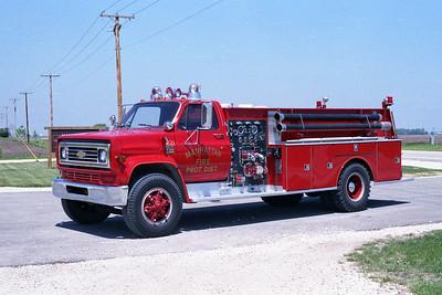 MANHATTAN FPD  ENGINE 1221  1976  CHEVY C65 - DARLEY   750-1000   #81289