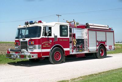 MANHATTAN FPD  ENGINE 1221  1994  PIERCE DASH   1250-750    E-8074