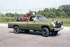 MILLER WOODS  BRUSH 456  1973 DODGE W200 4X4 - FD  100-170   OLIVE GREEN COLOR