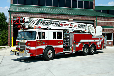 NEW LENOX TRUCK 1619   PIERCE