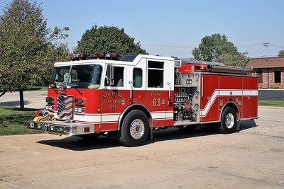 NEW LENOX  ENGINE 63   X- LOCKPORT ENGINE