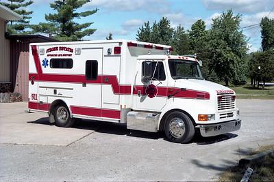 STEGER ESTATES   MEDIC 822   1996 IHC - E-ONE  #15536