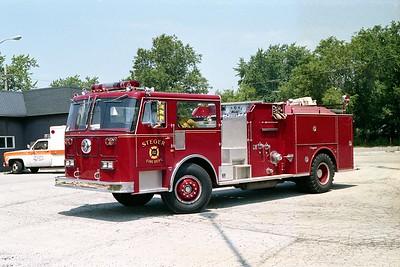 STEGER  ENGINE 102  1980 SEAGRAVE  1250-500