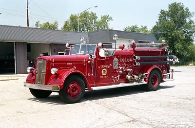 STEGER  ENGINE 104  1951 WLF FIRE BRAND  750-500  PHOTO 2