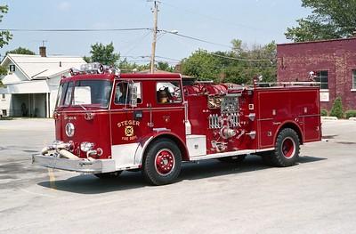 STEGER  ENGINE 106   1972 SEAGRAVE  1500-500