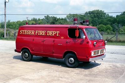 STEGER  RESCUE 119  1967 GMC HANDI-VAN