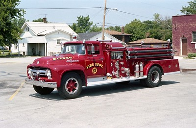 STEGER ENGINE 101  1956 FORD F - ALEXIS  750-500