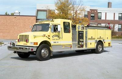 STEGER  ENGINE 111 1992 IHC 4900 - DARLEY  1250-1000