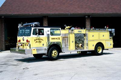 UNIVERSITY PARK FD  ENGINE 78 1980  HENDRICKSON - FMC   1500-500