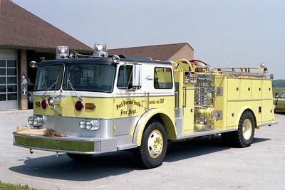 UNIVERSITY PARK FD  ENGINE 77  1972  AMERICAN   1250-500 (2)