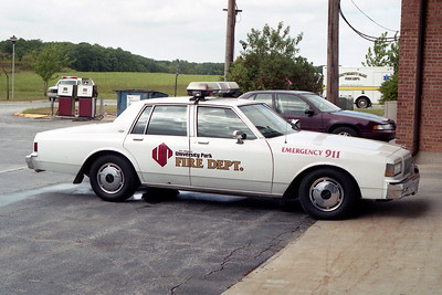 UNIVERSITY PARK FD  CAR 86  1990  CHEVY CAPRICE