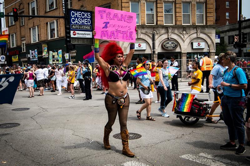Parade pride.