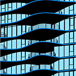 "Print title:  ""  AQUA TOWER  ""   /  © Gj"