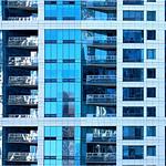 """Print title:  """"  LA GRANDE MAISON BLUE """" / © Gj"""