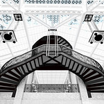 "Print title:  "" THE GRAND STAIRCASE ""  /  © Gj"