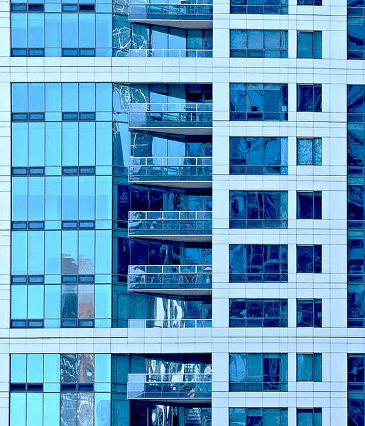 """Print title:  """"  LA MAISON BLUE """"  /  © Gj"""