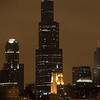 SEARS TOWER NIGHT SKYLINE