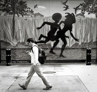 Black mural in Chicago