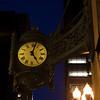 MACYS CLOCK AT NIGHT