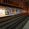 RANDOLPH AND WALBASH L TRAIN STATION