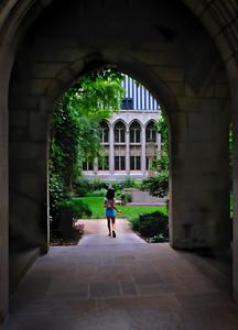 Archway at Presbyterian Church