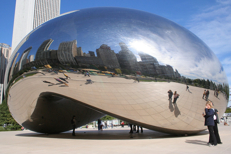 Cloud Gate -The Bean- at Millenium Park