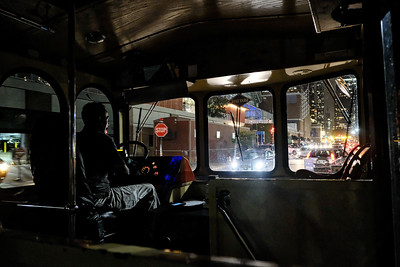 Bus driver in Chicago