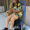 JAZZ ARTIST ON THE STREET
