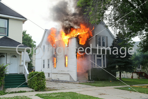 BELLWOOD, IL BOX ALARM FIRE 224 S. 27TH AVENUE (06-16-2014)