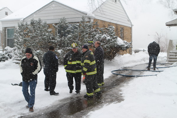 BELLWOOD, IL BOX ALARM FIRE  543 S 49TH AVENUE (02-09-2014)