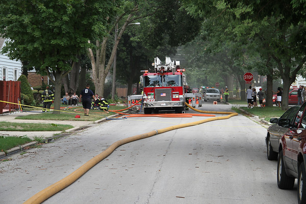 LAGRANGE PARK, IL BOX ALARM 1401 & 1402 NEWBERRY (07-24-2012)