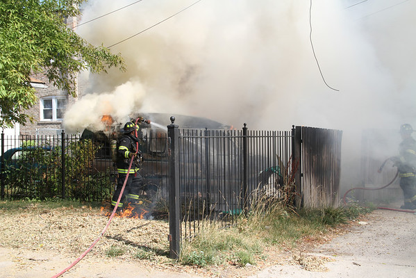 MAYWOOD, IL STILL ALARM 511 S. 6TH AVE (07-17-2012)