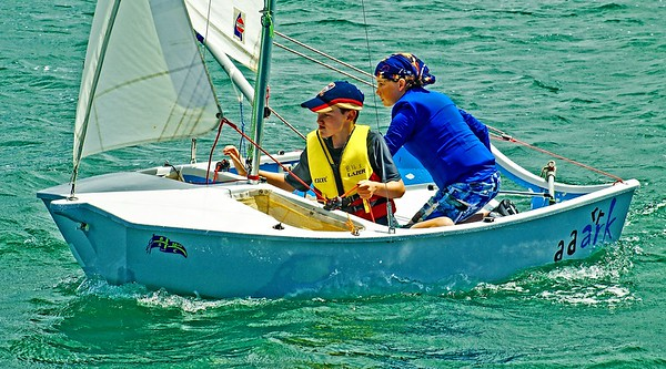 Children sailing. January, 2013: Editorial