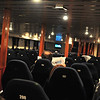 Inside lounge in the Ferry