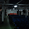 The upper deck on the Ferry