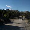 Riding thru Valle Encantado, on the way to San Martin de Los Andes, Argentina