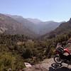 Near Santiago, Chile, Rio Colorado in Cajon Del Maipo