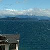 The view from my room in Lago Nahuel Huapi, Bariloche, Argentina